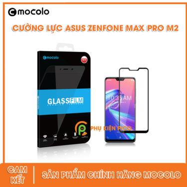 Cường lực Asus Zenfone Max Pro M2 full tràn viền chính hãng Mocolo