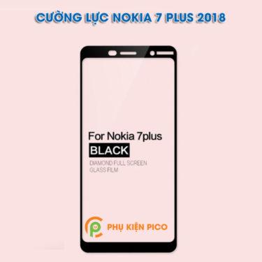 Combo cường lực Nokia 7 Plus 2018 và dán camera Nokia 7 Plus 2018, ốp lưng Nokia 7 Plus 2018 trong suốt.