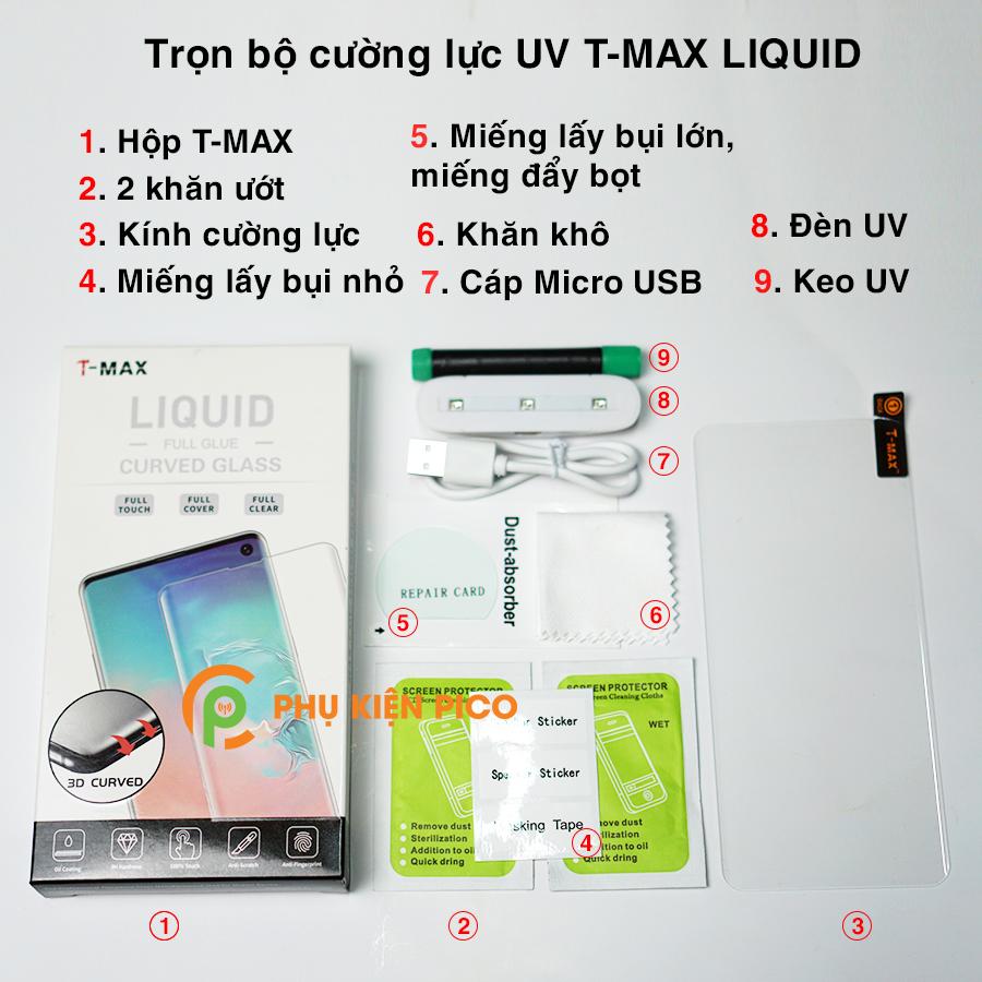1-13 Cường lực T-Max là gì, có nên dán cường lực T-Max keo UV không?