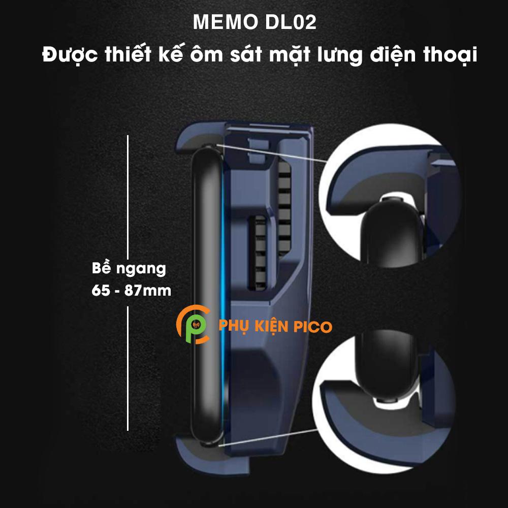 Memo-DL02-va-Black-Shark-FunCooler-BR10-2 So sánh 2 sản phẩm quạt tản nhiệt điện thoại có sò lạnh Memo DL02 và Xiaomi Black Shark FunCooler BR10