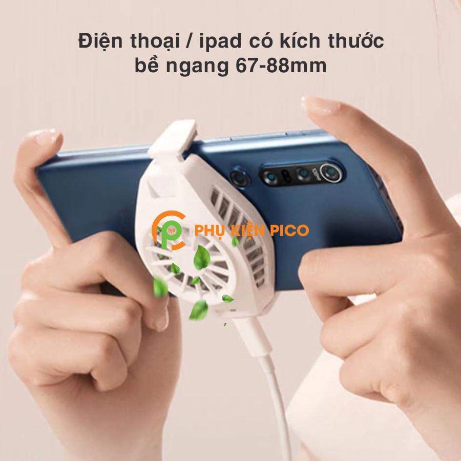 Memo-DL02-va-Black-Shark-FunCooler-BR10-6 So sánh 2 sản phẩm quạt tản nhiệt điện thoại có sò lạnh Memo DL02 và Xiaomi Black Shark FunCooler BR10