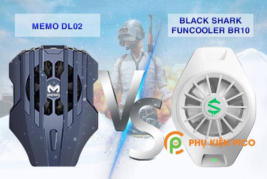 Memo-DL02-va-Black-Shark-FunCooler-BR10-7 So sánh 2 sản phẩm quạt tản nhiệt điện thoại có sò lạnh Memo DL02 và Xiaomi Black Shark FunCooler BR10