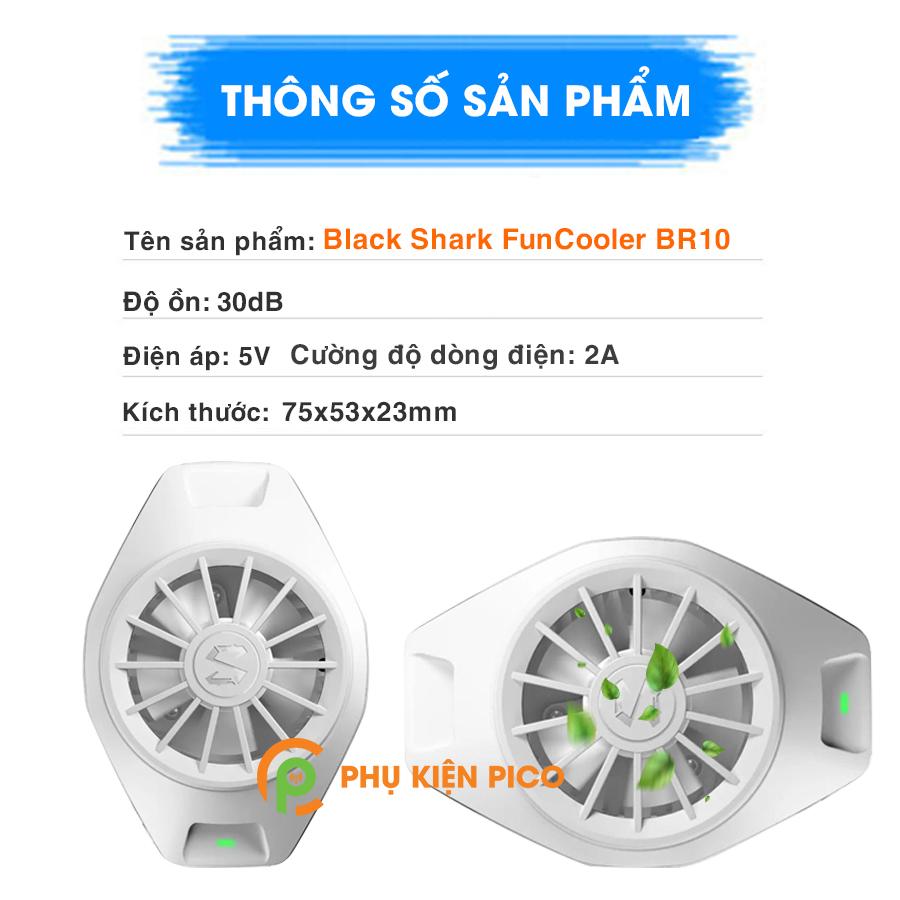 Memo-DL02-va-Black-Shark-FunCooler-BR10-8 So sánh 2 sản phẩm quạt tản nhiệt điện thoại có sò lạnh Memo DL02 và Xiaomi Black Shark FunCooler BR10
